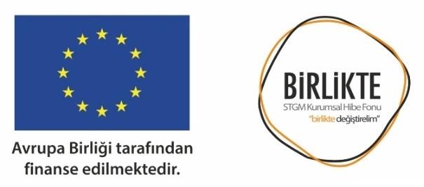 Birlikte programı logosu ve Ab bayrağı görseli