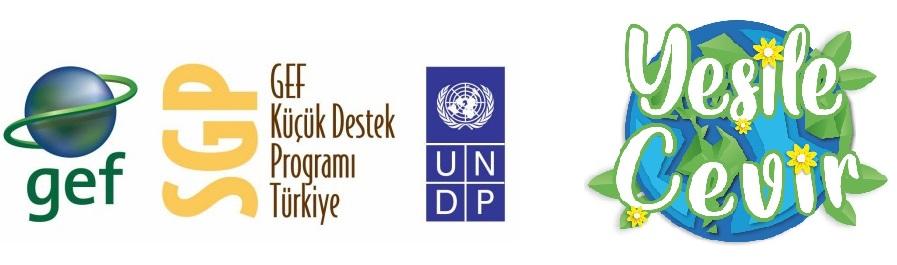 UNDP GEF Yeşile çevir proje logo görselleri